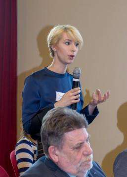 Podiumsdiskussion mit Publikumsbeteiligung