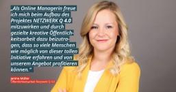 Janine Müller - Presse- und Öffentlichkeitsarbeit