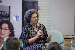 Staatssekretärin Almuth Hartwig-Tiedt bei Auftaktveranstaltung der KAUSA Servicestelle Brandenburg in Cottbus