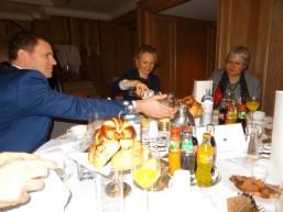 bbw Personalerfrühstück im Berliner Capital Club Gespräche