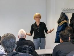 Peggy Kohse Agentur für Arbeit bei REWE-bbw-TQ-Auftaktveranstaltung in Berlin-Marzahn