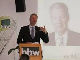 Christian Amsinck - Hauptgeschäftsführer der UVB bem bbw Wirtschaftstag
