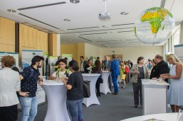 Projektmesse beim bbw Internationalisierungstag