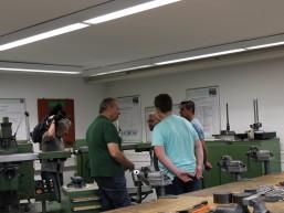 Metallkabinett für die Ausbildung in FF(O.)