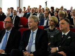Publikum während der Fachvorträge beim bbw Wirtschaftstag