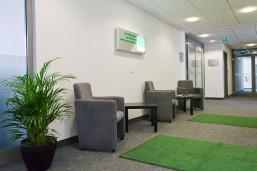 bbw e.V. Standort in der Wilmersdorfer Straße 138-140, Sitzbereich für Teilnehmer und Dozenten