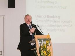 Bernd Becking - Geschäftsführer Operativ der Bundesarbeitsagentur, Regionaldirektion Berlin-Brandenburg
