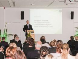 Christian Amsinck - Hauptgeschäftsfüherer der UVB beim bbw Zuwanderungstag 2015