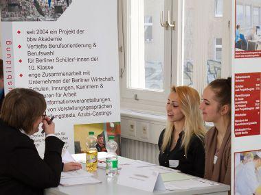 Azubicasting beim Berliner Netzwerk für Ausbildung Handel 800 x 600