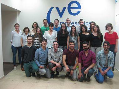 Die Gruppe in Valladolid