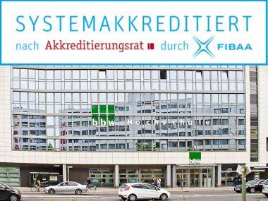 bbw Hochschule systemakkreditiert