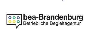 Logo bea Brandenburg - betriebliche Begleitagentur