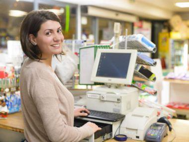 Arbeiten im Einzelhandel